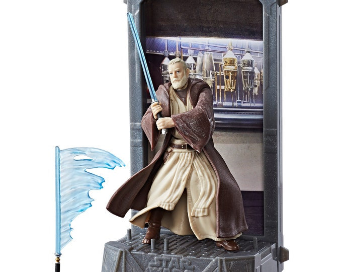 Star Wars 40th Anniversary The Black Series Titanium Series Obi-Wan Kenobi