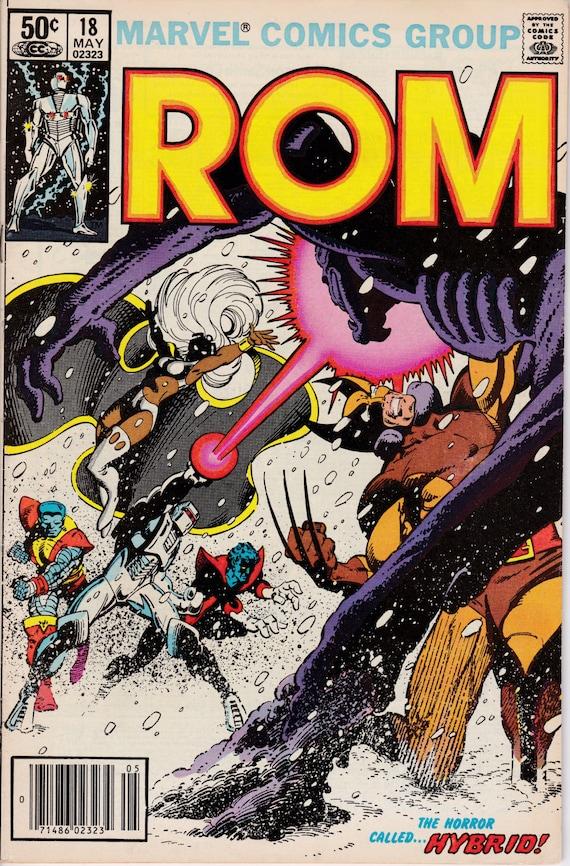 Rom #71  Marvel Comics Very Fine