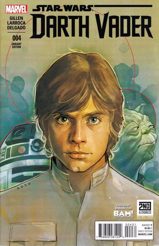 Star Wars Darth Vader 4 Bam Variant Cover June 2015 Marvel Comics Grade Nm