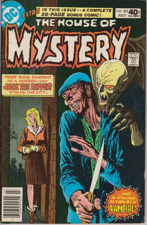 House Of Mystery 282 1st Series 1951-1983 July 1980 DC