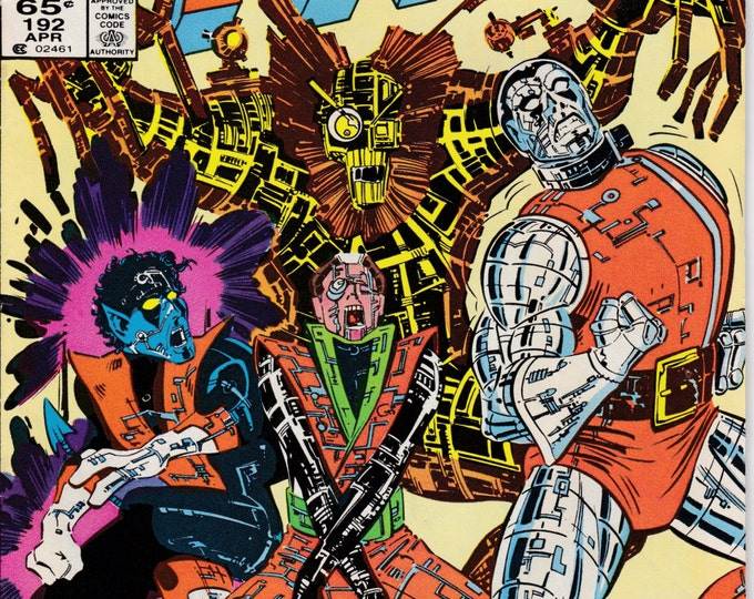 Uncanny X-Men #192 (1st Series 1963) April 1985    Marvel Comics    Grade VF