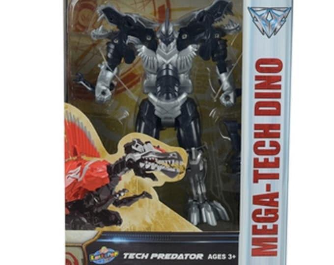 Mega-Tech Dino Tech Predator T-Rex from Lollipop Toys  *MIB*