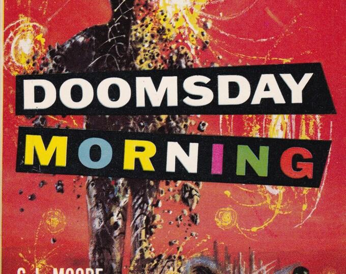 Vintage 1958 Sci Fi Novel Doomsday Morning, C.L. Moore