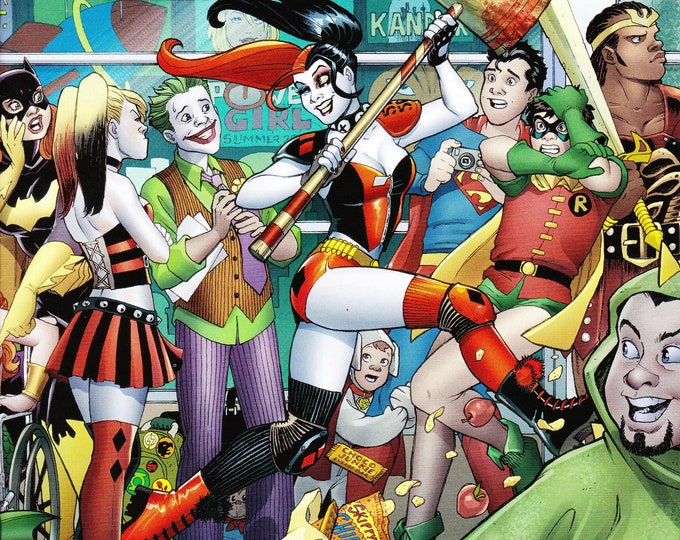 Harley Quinn Invades The San Diego Comic Con #1 September Issue DC Comics  Grade NM