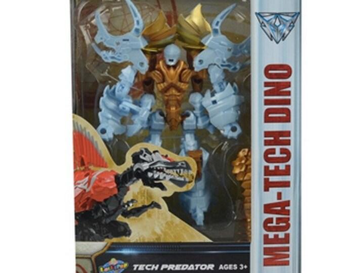 Mega-Tech Dino Tech Predator Triceratops from Lollipop Toys  *MIB*
