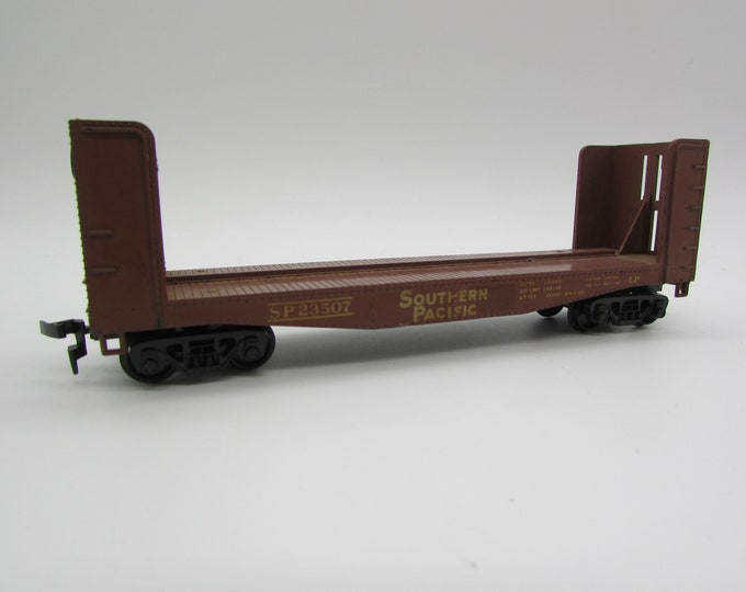 Athearn HO Scale Southern Pacific Pulp Wood Flat Car #23507