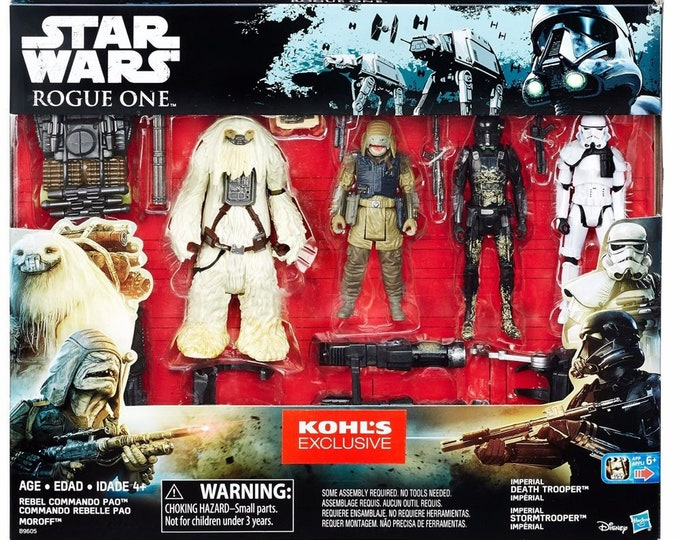 Star Wars Rogue One 3.75 inch Action Figure 4-Pack (Kohl's Exclusive)