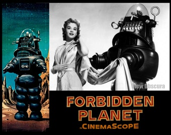 Forbidden Planet - Lobby Card Lithograph - Limited Edition