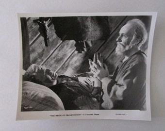 Bride of Frankenstein 8 x 10 Studio Still - Frankenstein / Blind Man  - Original Studio Image
