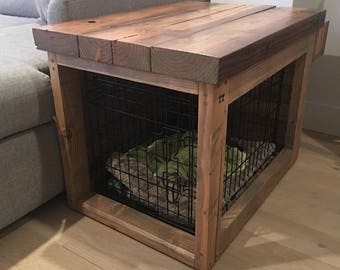 Beau Reclaimed Wood Table / Crate / Cover
