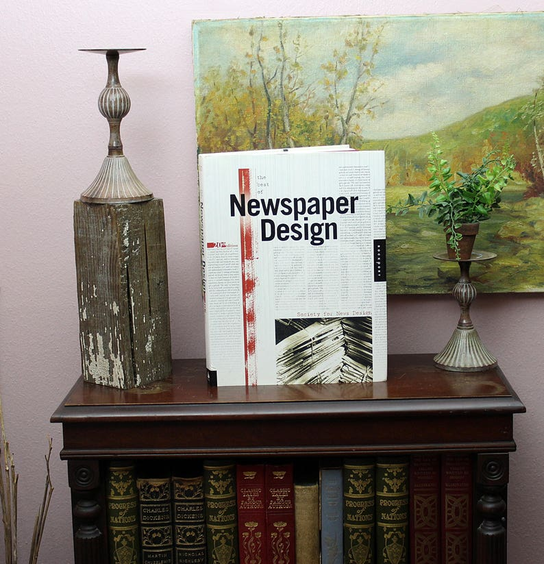 The Best Of Newspaper Design 20th Edition Journalism Book