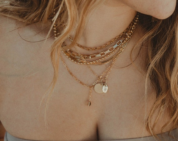 Box Chain Necklace- large
