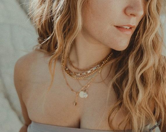 Box Chain Necklace- small