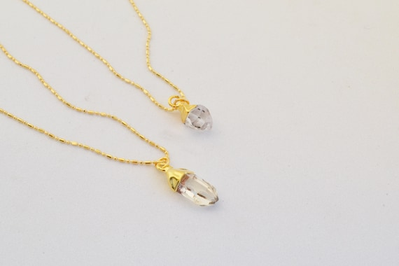 Mini Quartz Necklace