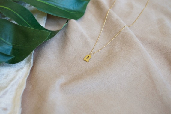 PREORDER Delicate Initial Necklace