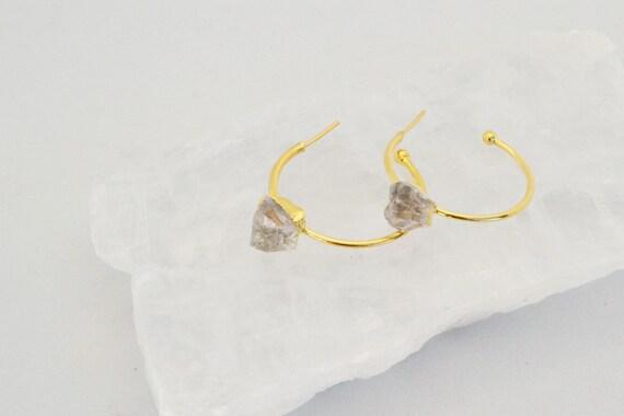 Hope Crystal Hoop Earrings