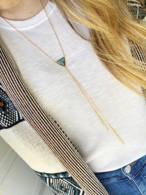 Delicate Bolo Necklace