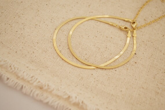 Flat Chain Bracelet
