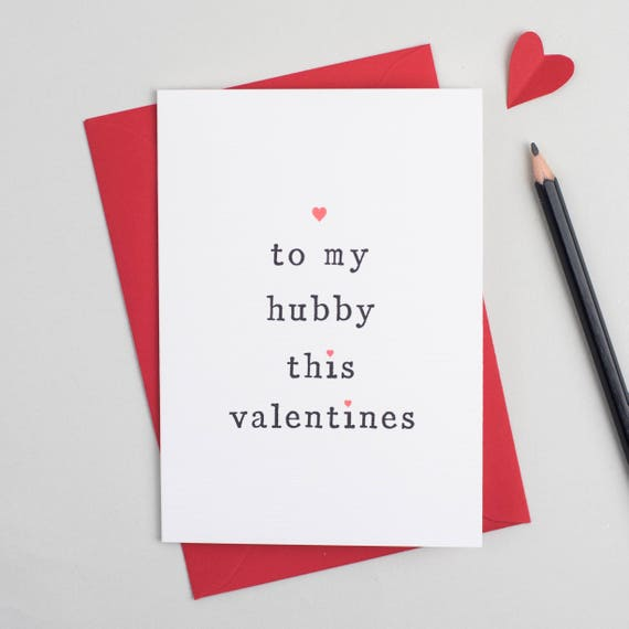 Valentines Day Valentines Card Love Card Wife Valentines Etsy