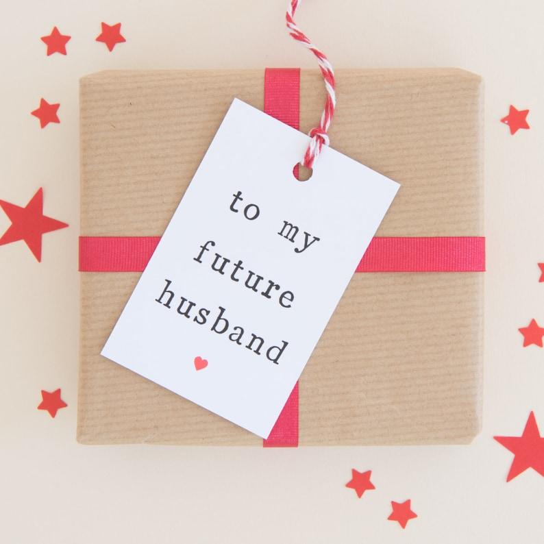 Future Husband Gift Tag