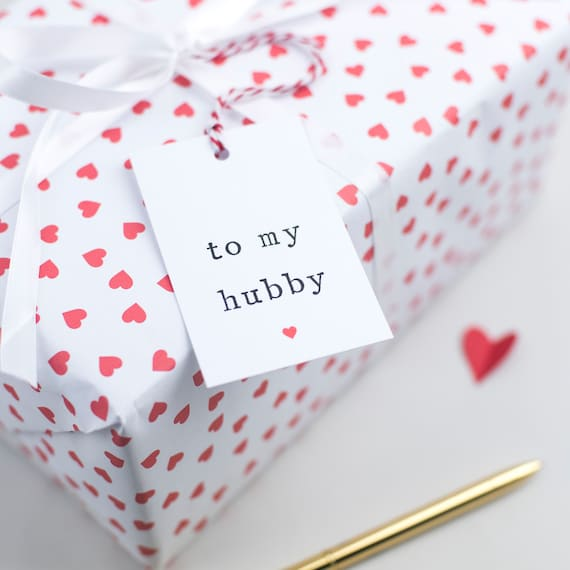 Hubby Gift Tag Husband Gift Tag Gift Tag For Present Hubby Etsy