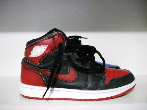 Jordan 1 Nike SB Lance Mountains Black Scratch Off Size 8.5