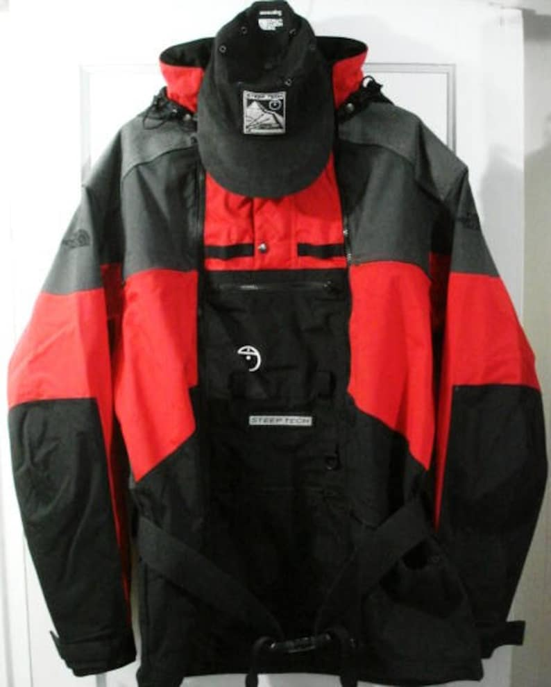 9d49cf3c2 bnwt vintage the north face scot schmidt steep tech mountain jacket sz xxL  ivy sport snow snowboarding ski