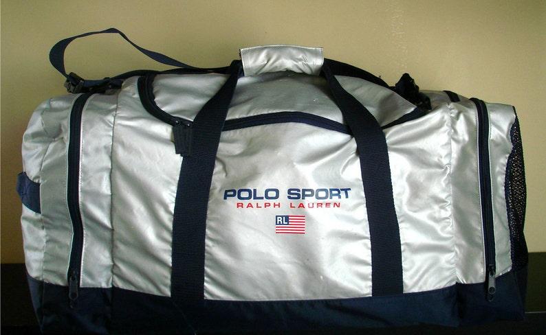 a27567268b Vtg ralph lauren polo sport duffle weekend travel bag bear usa