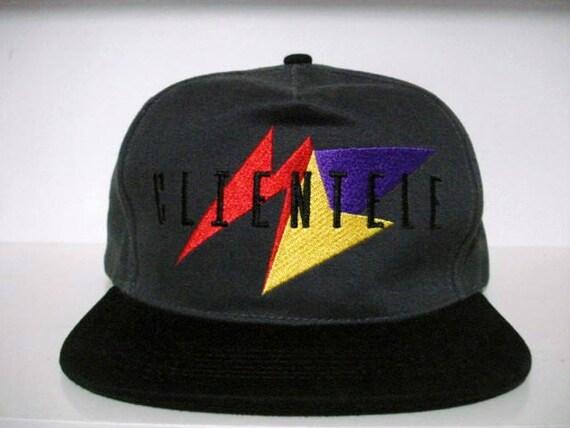 Vintage clientele new york snapback hat nike air jordan i iii  f5443623898a