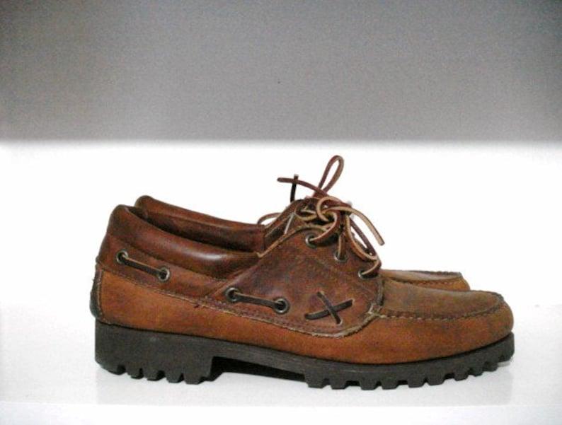 b5897a144c Vtg ralph lauren polo country low ranger shoes 9.5 bear ivy
