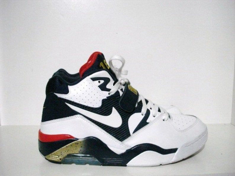 a3cb5f4d84 Vintage vnds nike air olympic force 180 Charles Barkley dream   Etsy