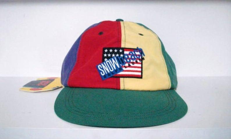 Bnwt M 1993 Bear Hat Vintage Polo Ralph Sz Ivy Fitted Snow Sport Lauren Beach n0wOPkX8