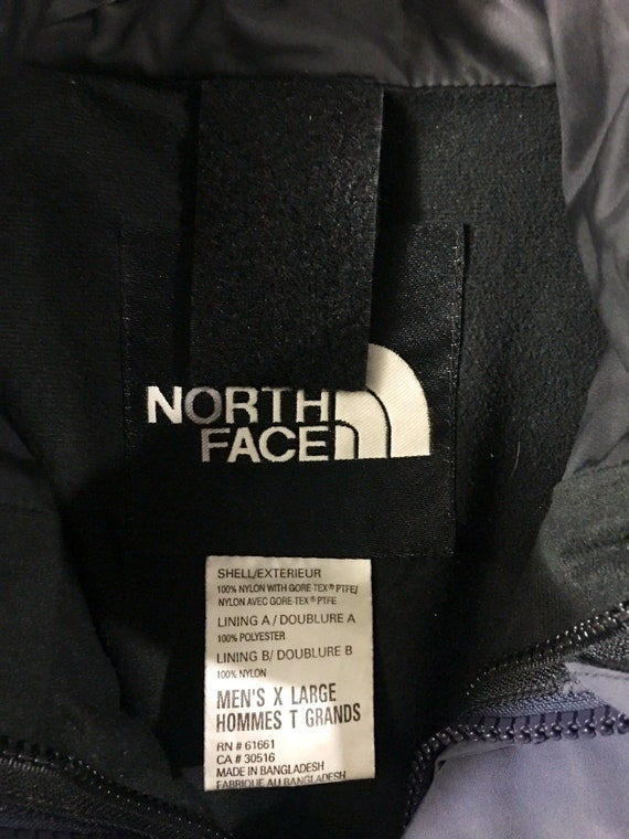 vintage the north face mountain guide storm grey gore tex jacket sz xL ivy sport snow snowboarding ski