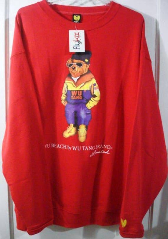 vintage bnwt the wu tang brand limited wu beach be