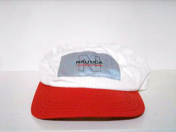 vintage nautica competition 3m strapback hat challenge young  c265f239ce0f