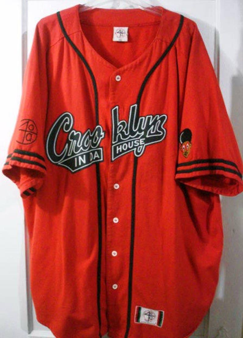 51ee1ec08951 Vintage 40 acres and a mule crooklyn baseball jersey sz xxl