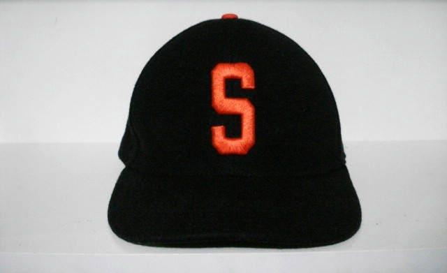 vintage stussy big S wool snapback hat sport ivy  e770bb1359f