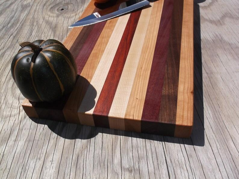 Wooden Cutting Board 16 x 9 5/8 x 1 1/8