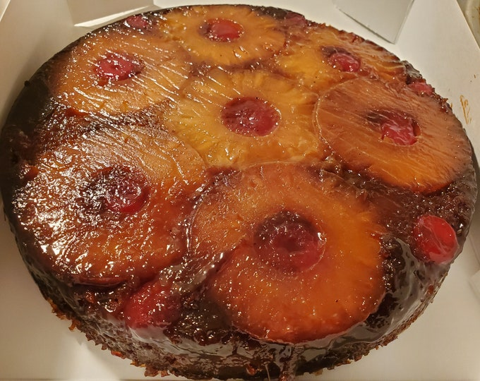 Spelt Pineapple upside down cake with coconut sugar *local sale only*