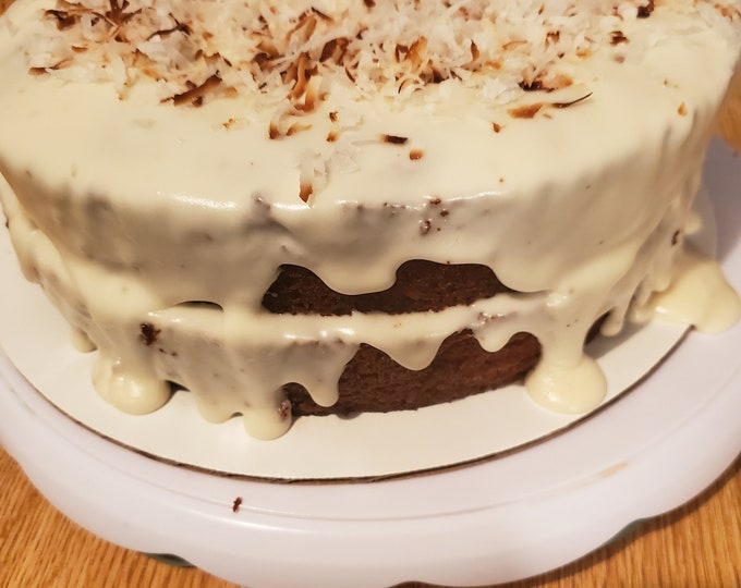 Vegan Gluten Free Carrot Cake with Cream Cheese Icing *Local Only*