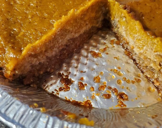 Sweet Potato Pie with walnut crust *only sold locally*