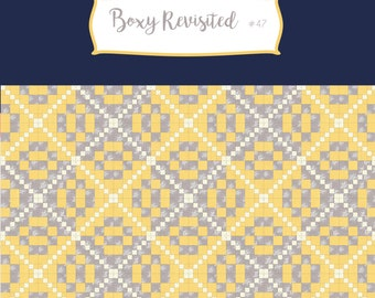 Boxy Revisited Quilt Pattern