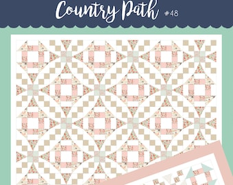 Country Path Quilt Pattern