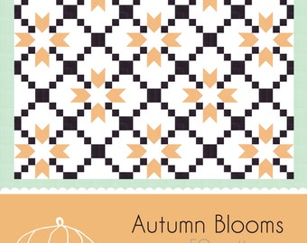 Autumn Blooms Quilt Pattern