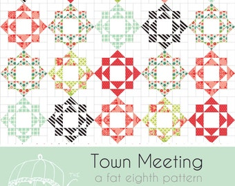 Town Meeting Quilt Pattern