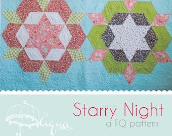 Starry Night Quilt Pattern
