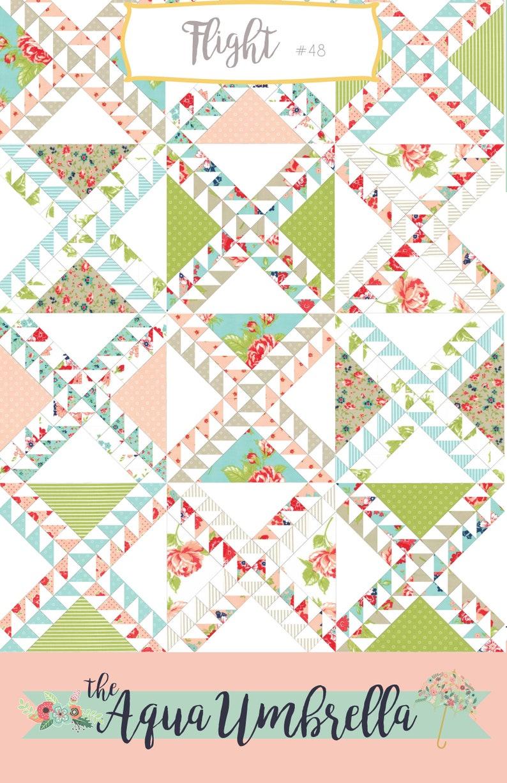 Flower Umbrella Monthly Photo Op PlushMinky Style Blanket