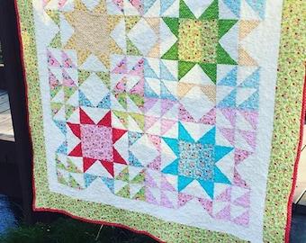 Fields of Joy Quilt Pattern