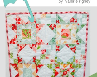Counting Stars Mini Quilt Pattern