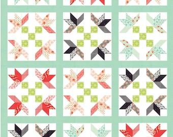 Tulip Tree Lane Quilt Pattern
